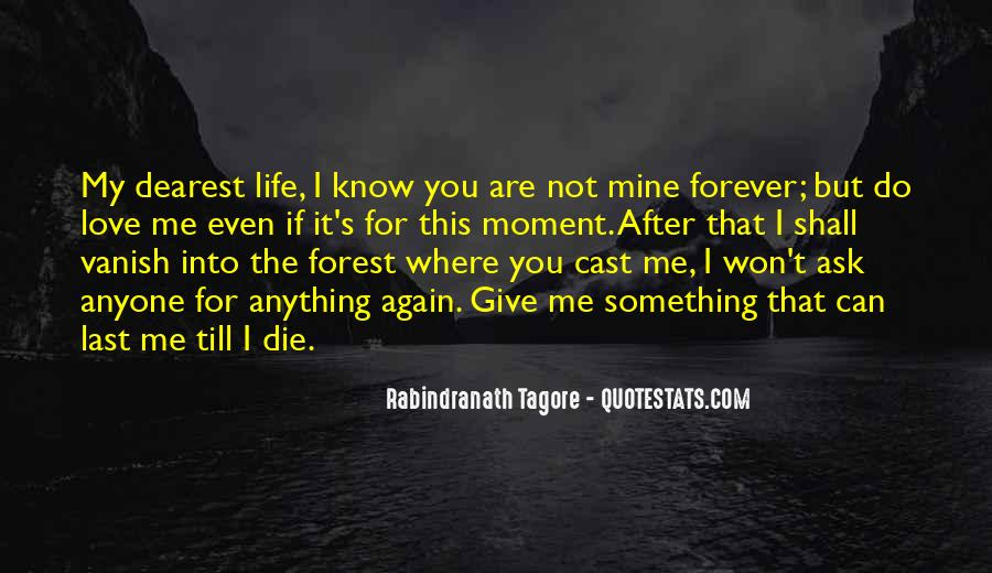 If It's Not Forever It's Not Love Quotes #1751870