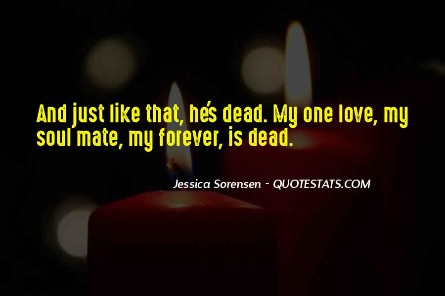 If It's Not Forever It's Not Love Quotes #18910