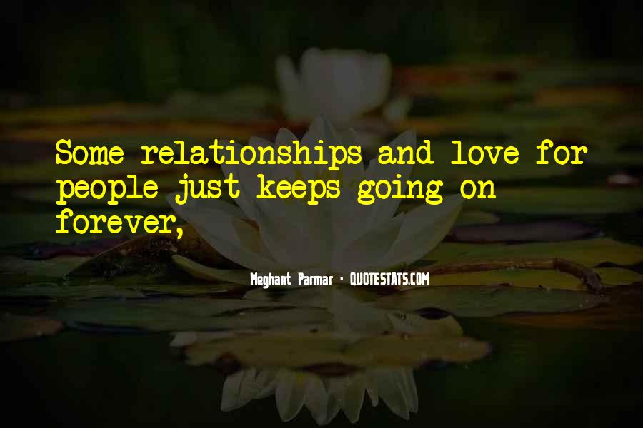 If It's Not Forever It's Not Love Quotes #46930