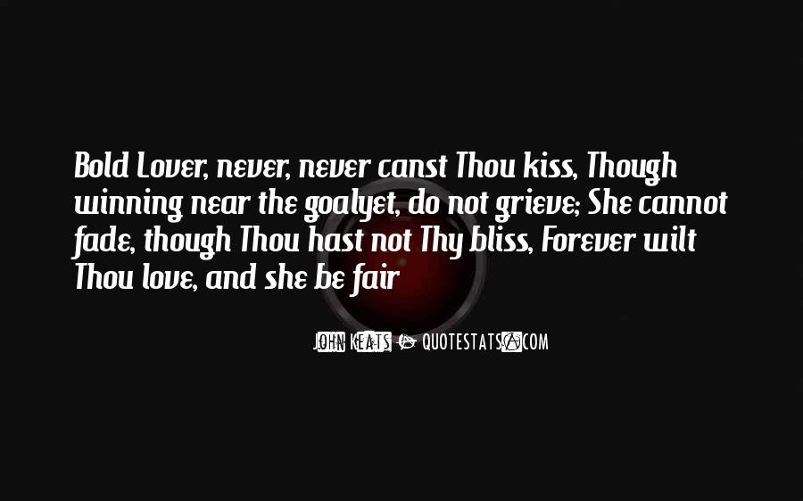 If It's Not Forever It's Not Love Quotes #46991