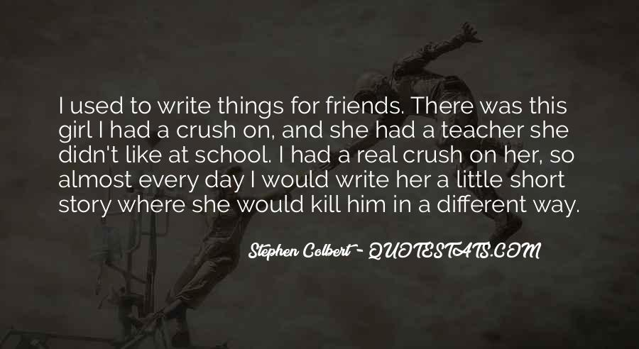 If Only Crush Quotes #18210