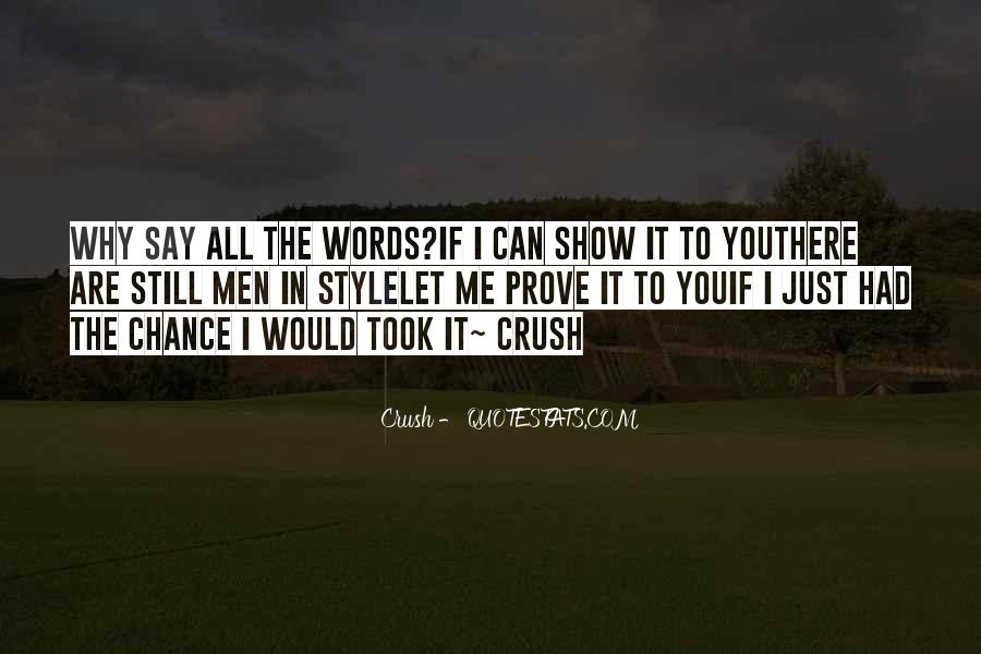If Only Crush Quotes #82878