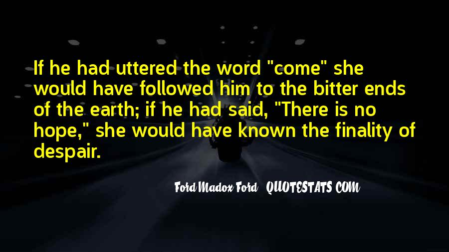 If She Is Quotes #1937