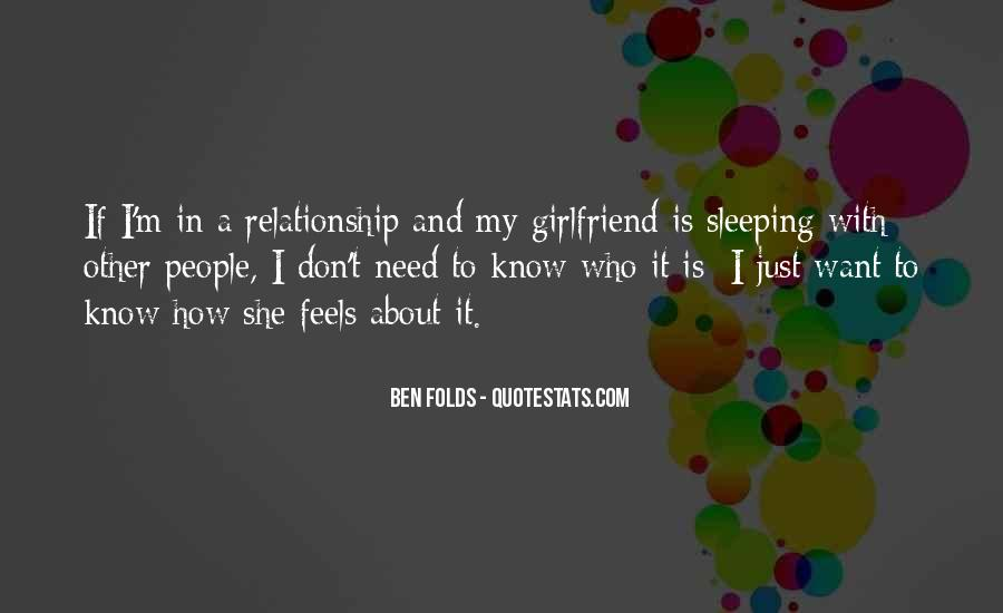 If She Is Quotes #69062