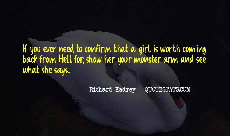 If She Is Quotes #88501