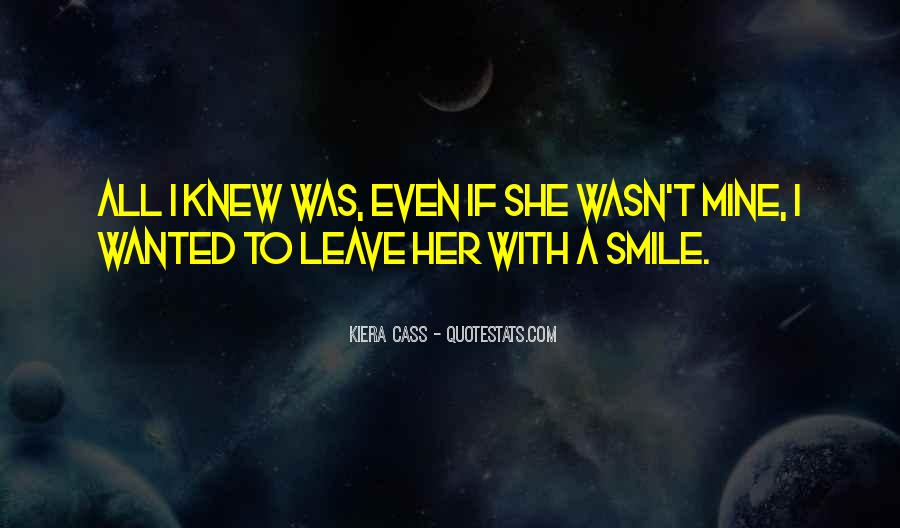 If She Was Mine Quotes #1424107