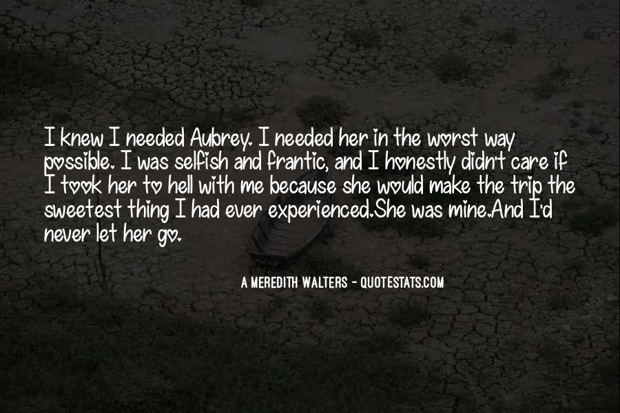 If She Was Mine Quotes #1639896
