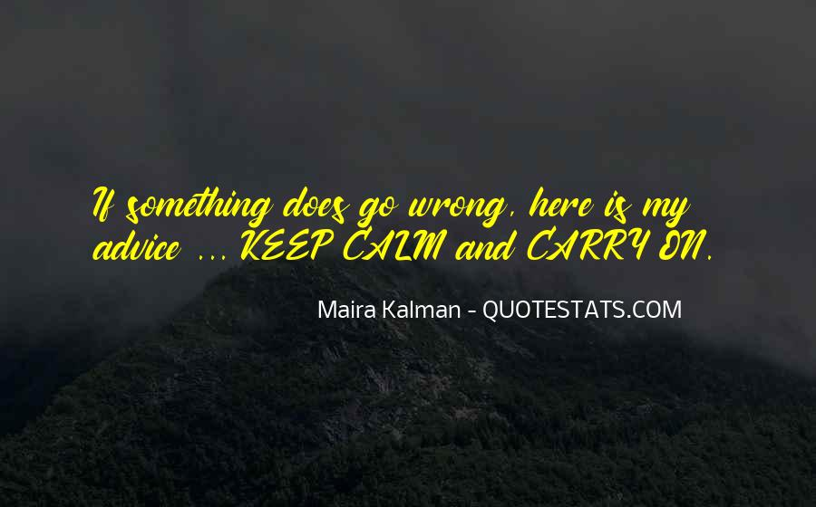 If Something Goes Wrong Quotes #186867