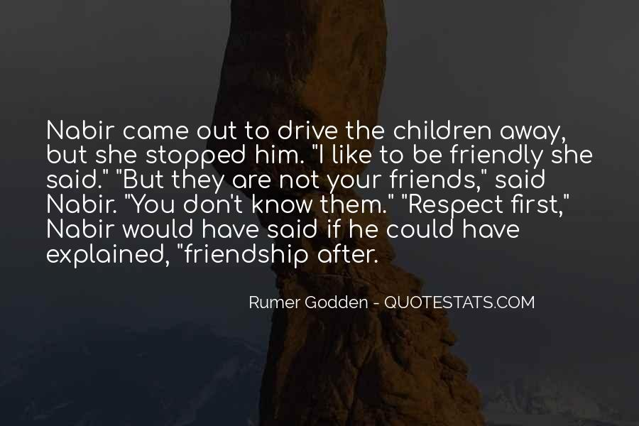 If They Respect You Quotes #1404153