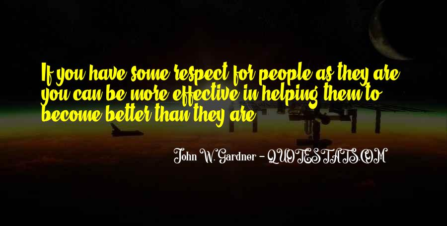 If They Respect You Quotes #1672622