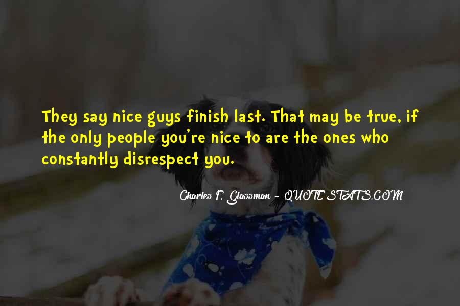 If They Respect You Quotes #202142