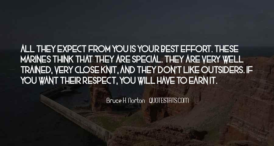 If They Respect You Quotes #571983