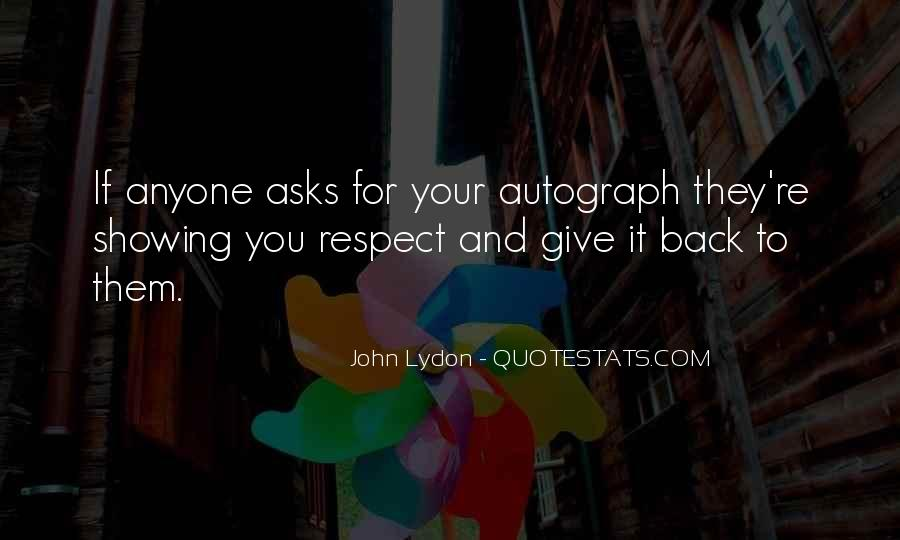 If They Respect You Quotes #624457