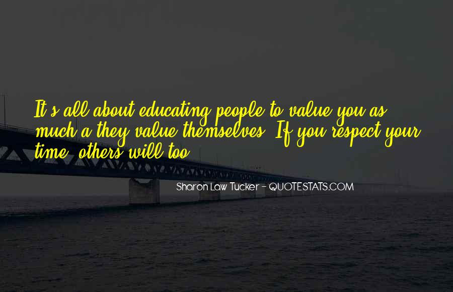 If They Respect You Quotes #65270