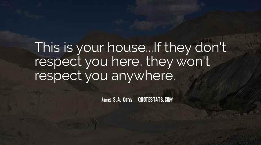 If They Respect You Quotes #695205