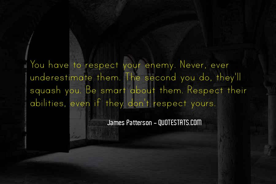 If They Respect You Quotes #839568