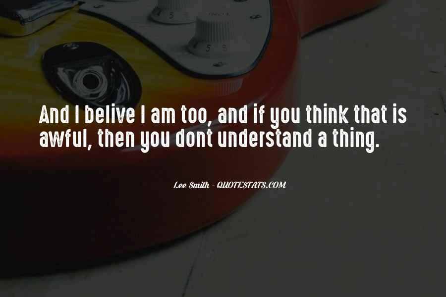 If U Dont Understand Me Quotes #366005