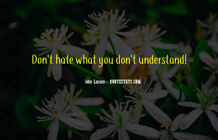 If U Dont Understand Me Quotes #481106