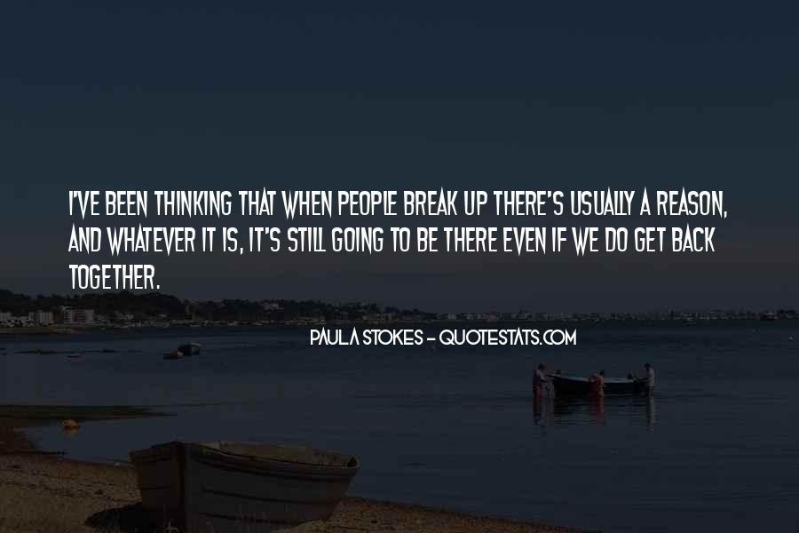 If We Break Up Quotes #1691021