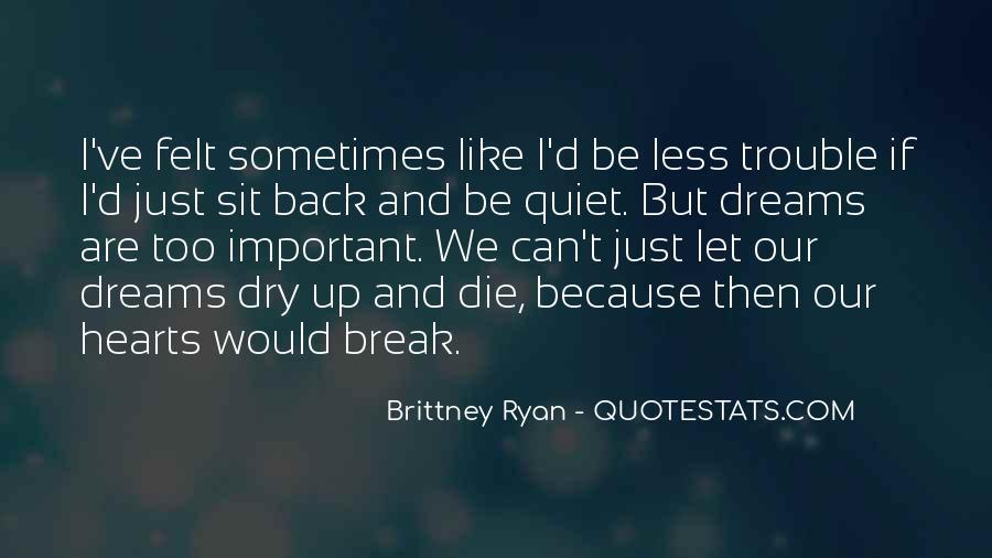 If We Break Up Quotes #189651