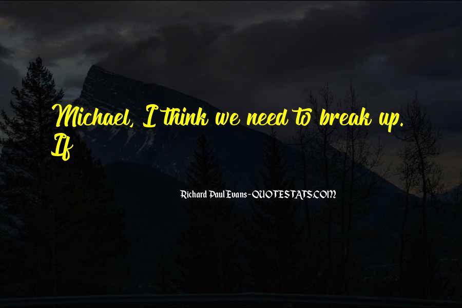 If We Break Up Quotes #276250