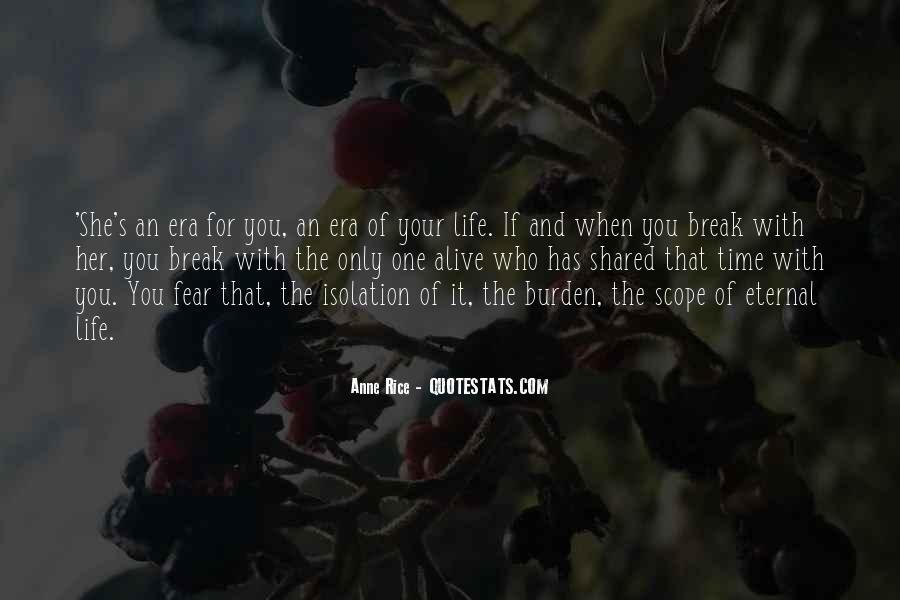 If We Break Up Quotes #3227