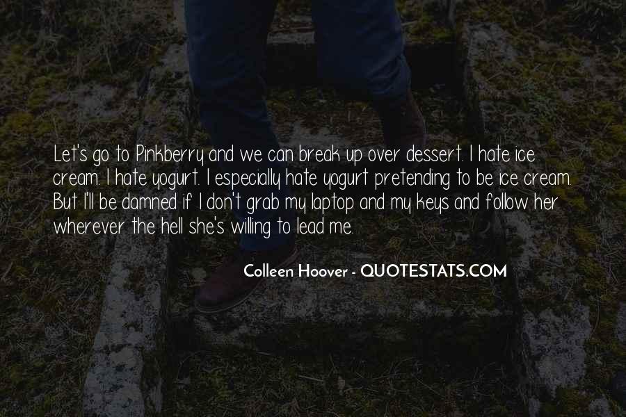 If We Break Up Quotes #398023