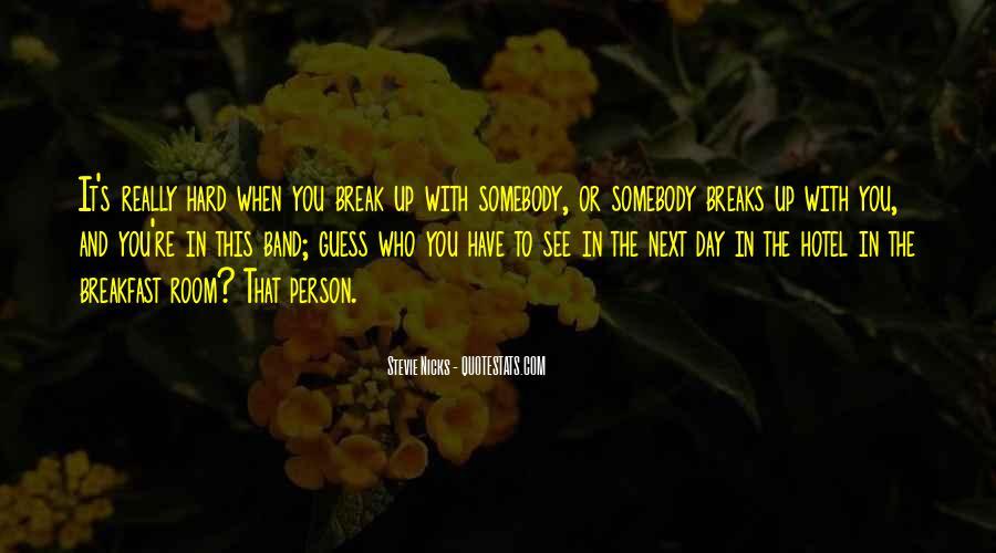 If We Break Up Quotes #6374