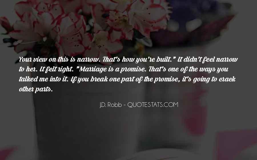 If You Break A Promise Quotes #1645470