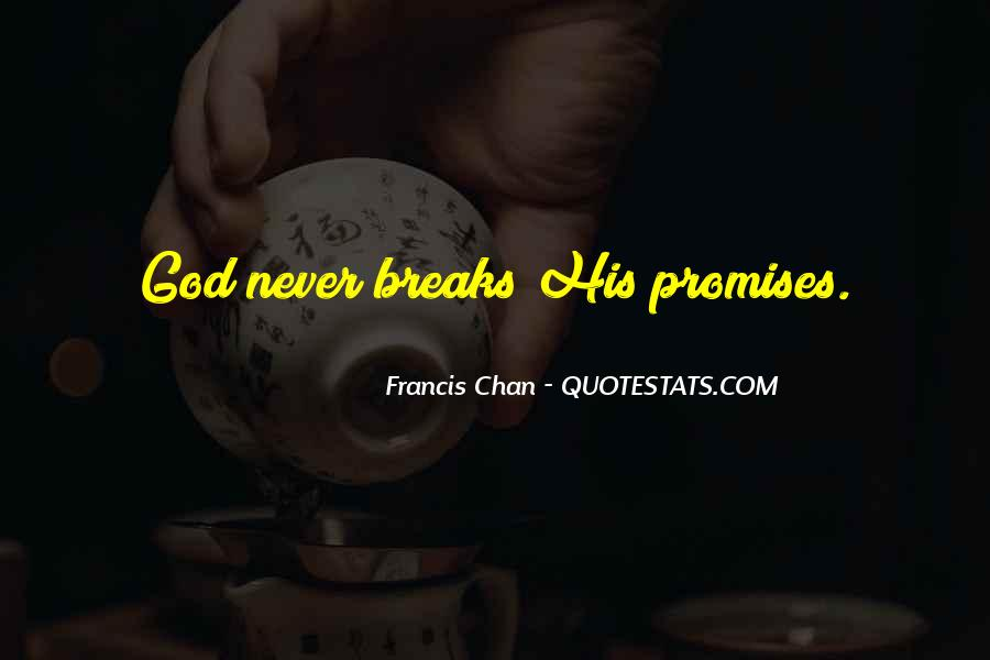 If You Break A Promise Quotes #175965
