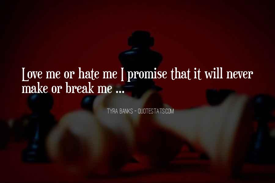 If You Break A Promise Quotes #52384