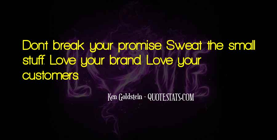 If You Break A Promise Quotes #702761