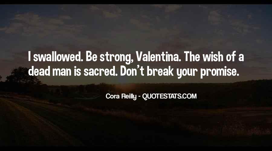 If You Break A Promise Quotes #885086
