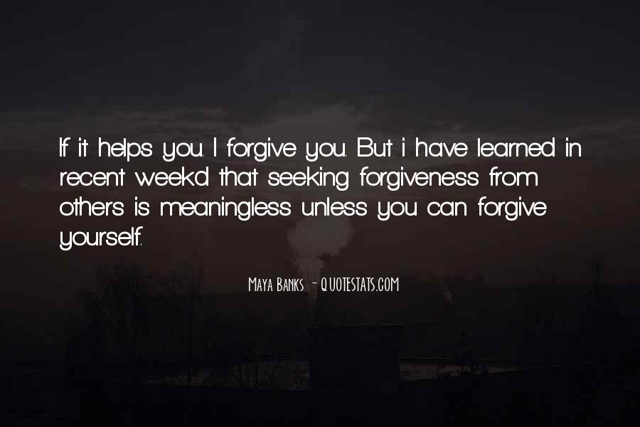 If You Can't Forgive Quotes #1295034