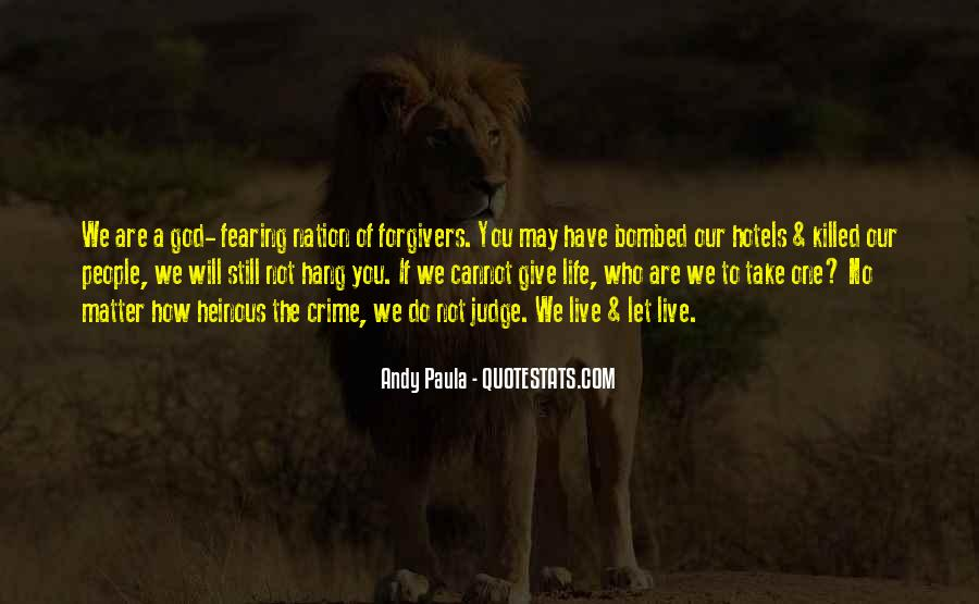 If You Cannot Forgive Quotes #1137188