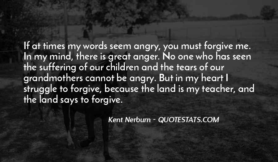 If You Cannot Forgive Quotes #953869