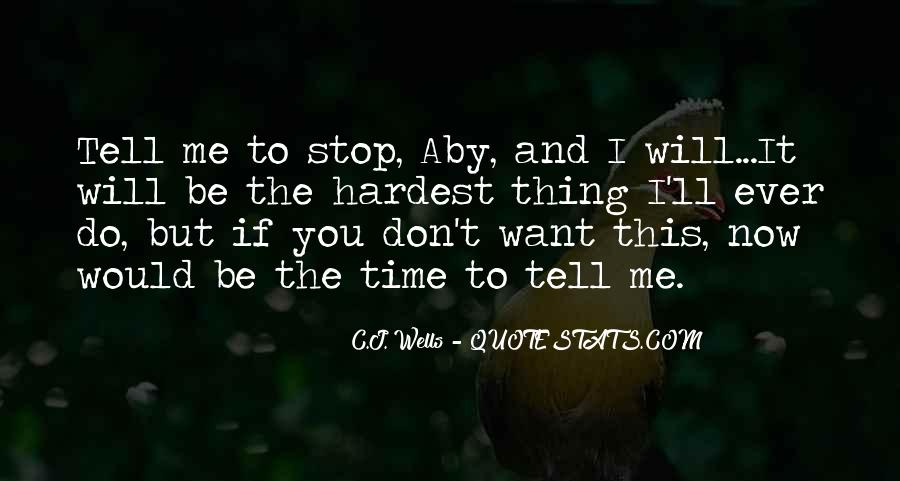 If You Don't Love Me Now Quotes #1619540