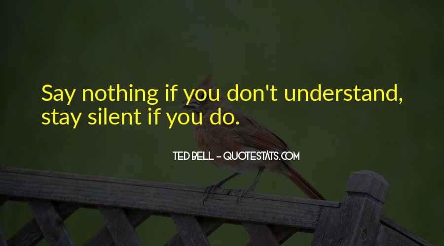 If You Don't Understand Quotes #236491