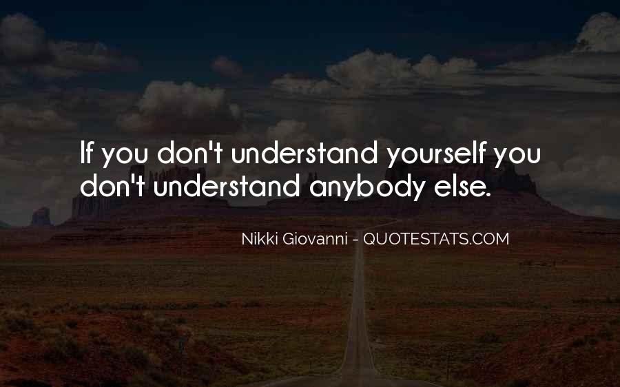 If You Don't Understand Quotes #250366