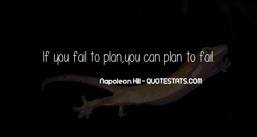 If You Fail To Plan Quotes #1689734