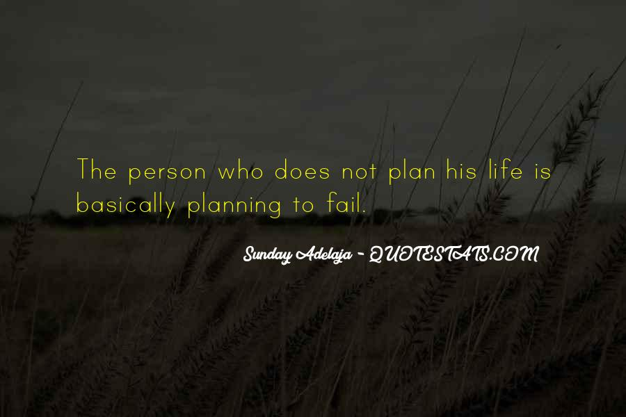 If You Fail To Plan Quotes #239123