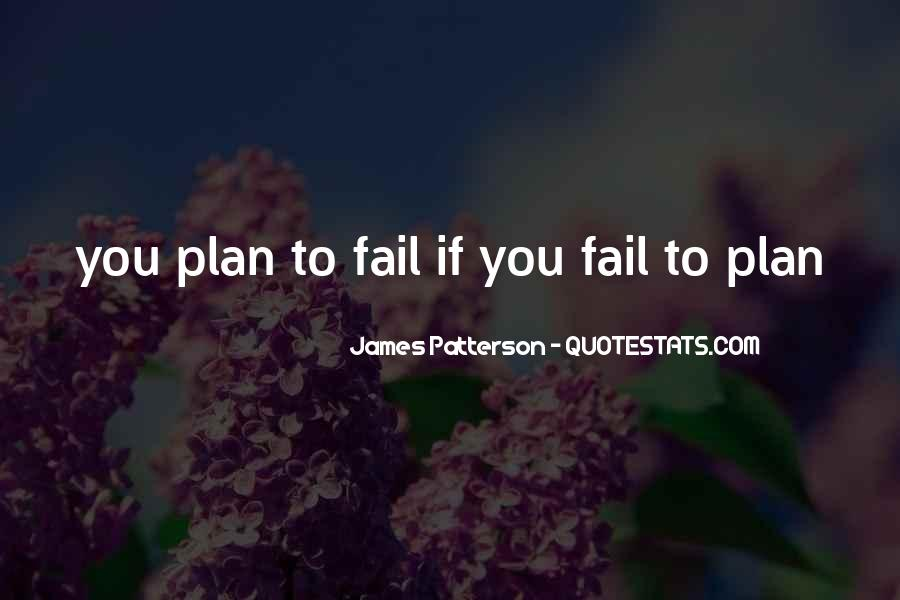 If You Fail To Plan Quotes #961016