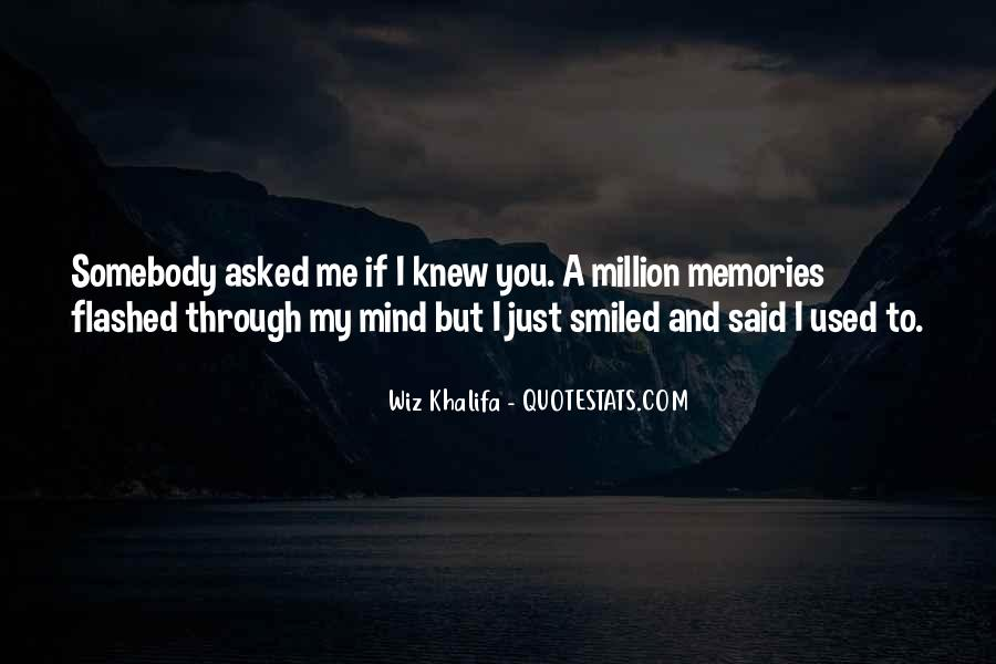 If You Knew Me Quotes #12688