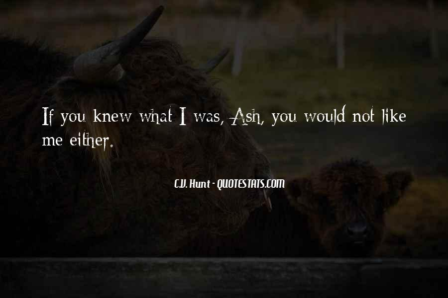 If You Knew Me Quotes #172690