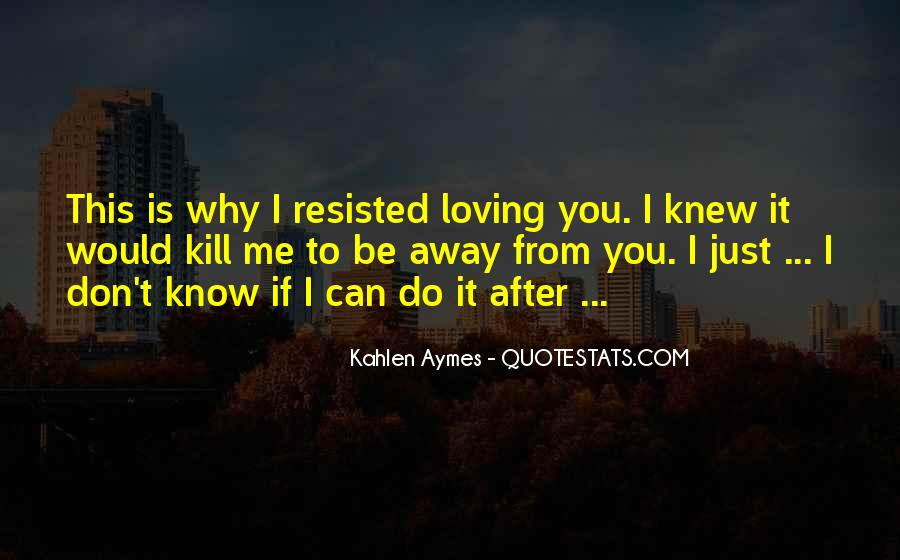 If You Knew Me Quotes #398725