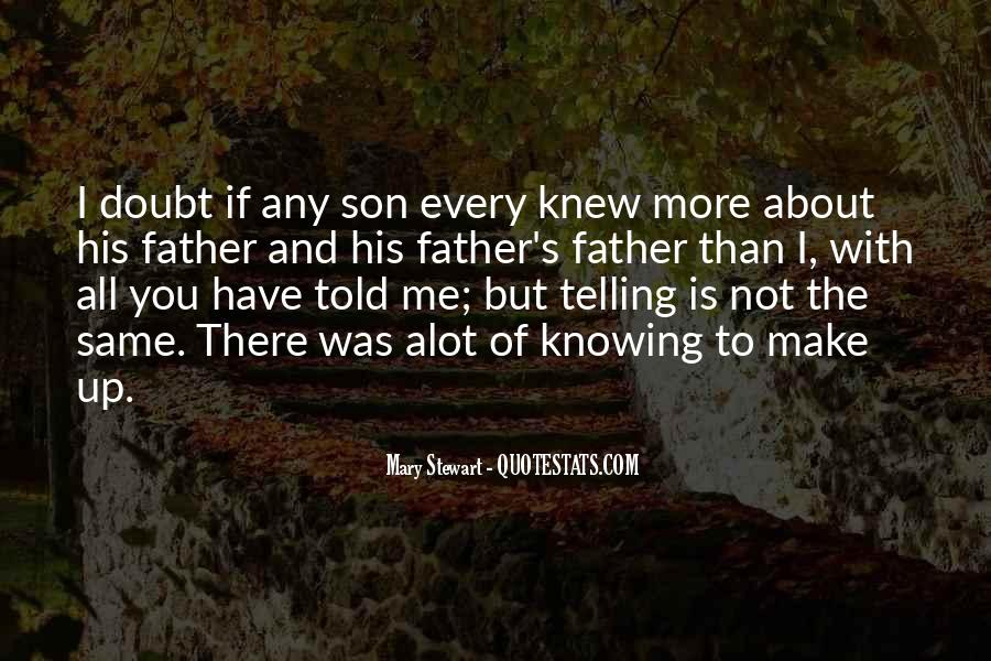 If You Knew Me Quotes #96118