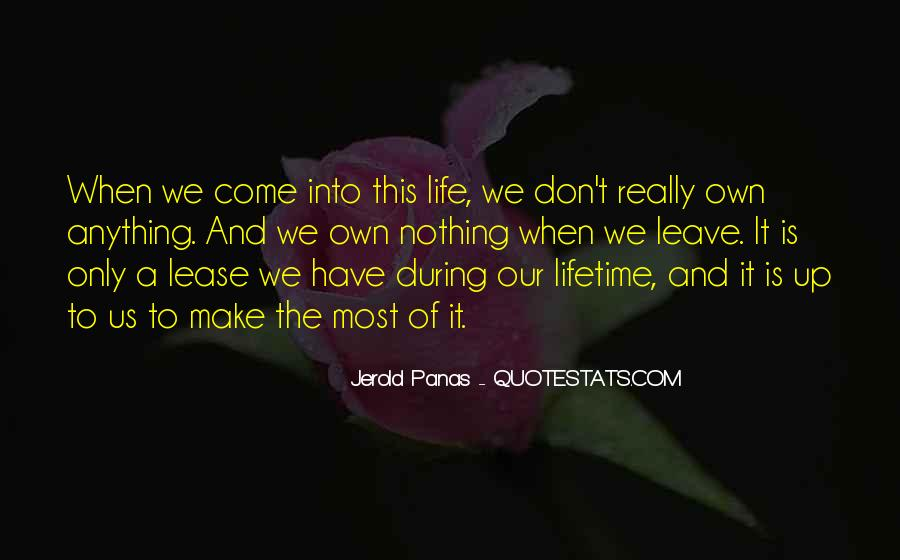 If You Leave My Life Quotes #64070