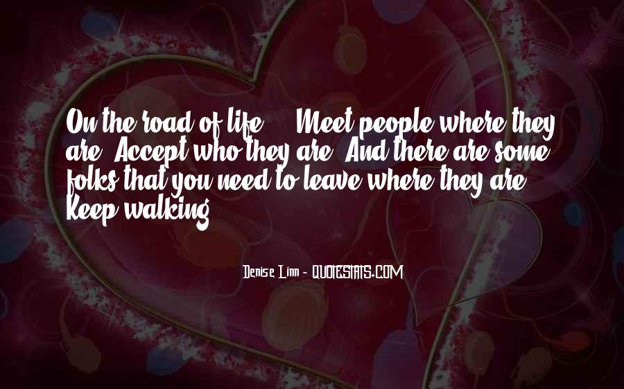 If You Leave My Life Quotes #7365