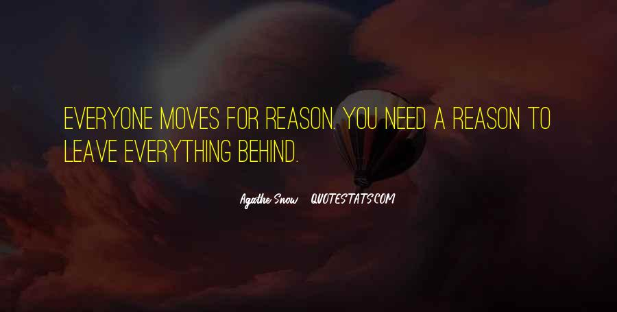 If You Leave Without A Reason Quotes #141760