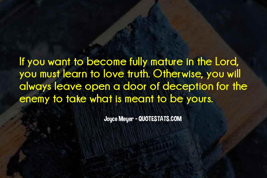 If You Must Leave Quotes #1687433